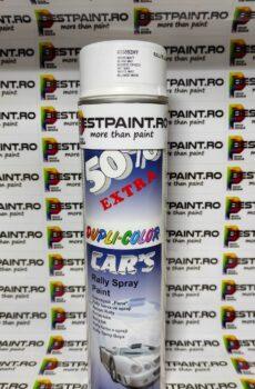 Spray auto alb mat Dupli color 600 ml